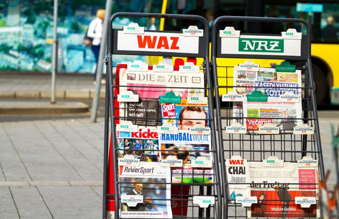 Die deutsche Geschichte wäre nicht komplett ohne die Geburt des Buchdrucks und der modernen Zeitschrift.