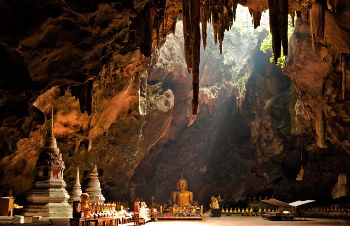 Die mystische und magische Khao-Luang-Höhle
