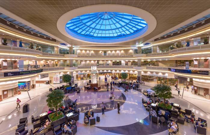 Im Hartsfield–Jackson Atlanta International Airport, dem Flughafen mit dem weltweit größten Passagieraufkommen, gibt es jede Menge zu sehen und zu tun