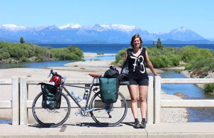 2015, eine kleine Pause irgendwo in Patagonien, um die Landschaft zu genießen
