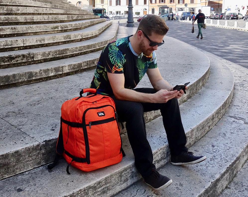 Cabin Max Metz - Handgepäck Rucksack speziell für Flugreisen