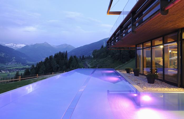 Infinity Pools in Ästerreich - Hotel Das Goldberg