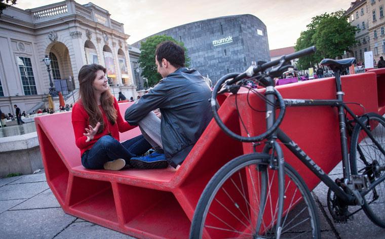 Kunst für unterwegs: Eine Radtour zu den Meisterwerken Wiens