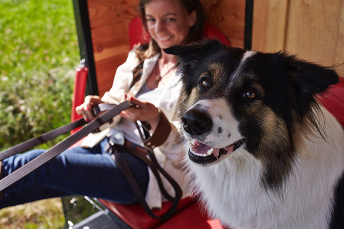 Camping im Planwagen