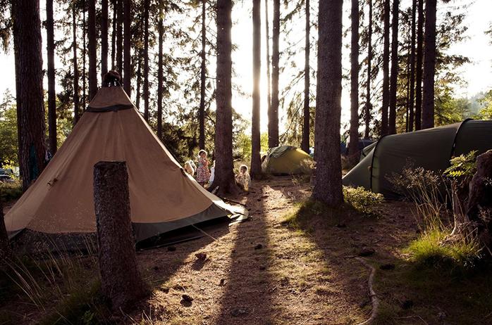Hier ist Wild Campen erlaubt