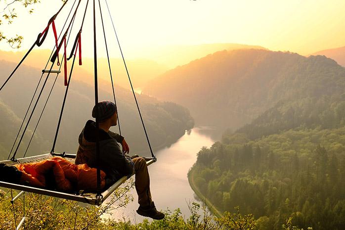 Cool Camping Deutschland - mit Ausblick
