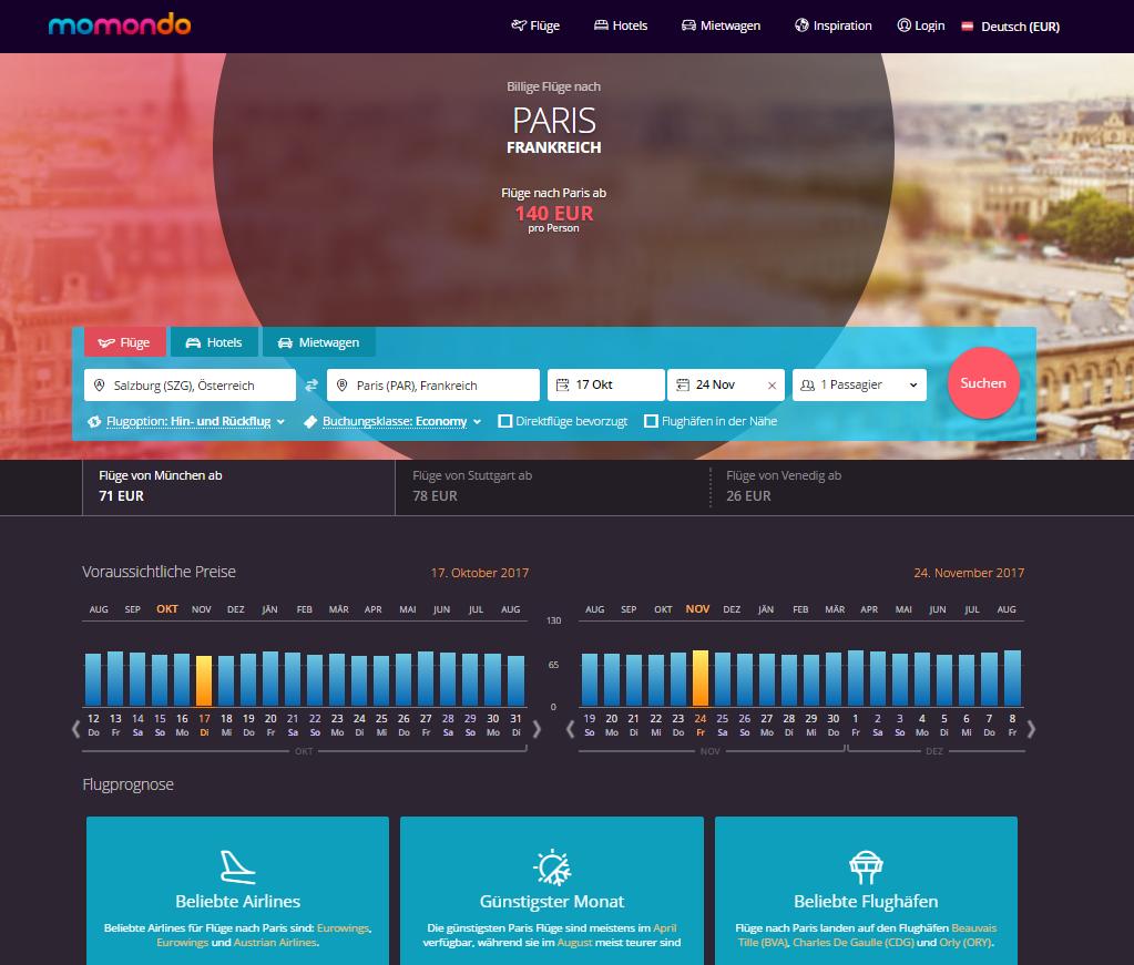 Wann sind Flüge am günstigsten - Alle Daten für deine Destination auf einen Blick