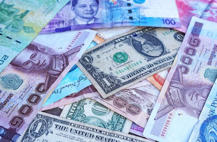 Geld auf Reisen