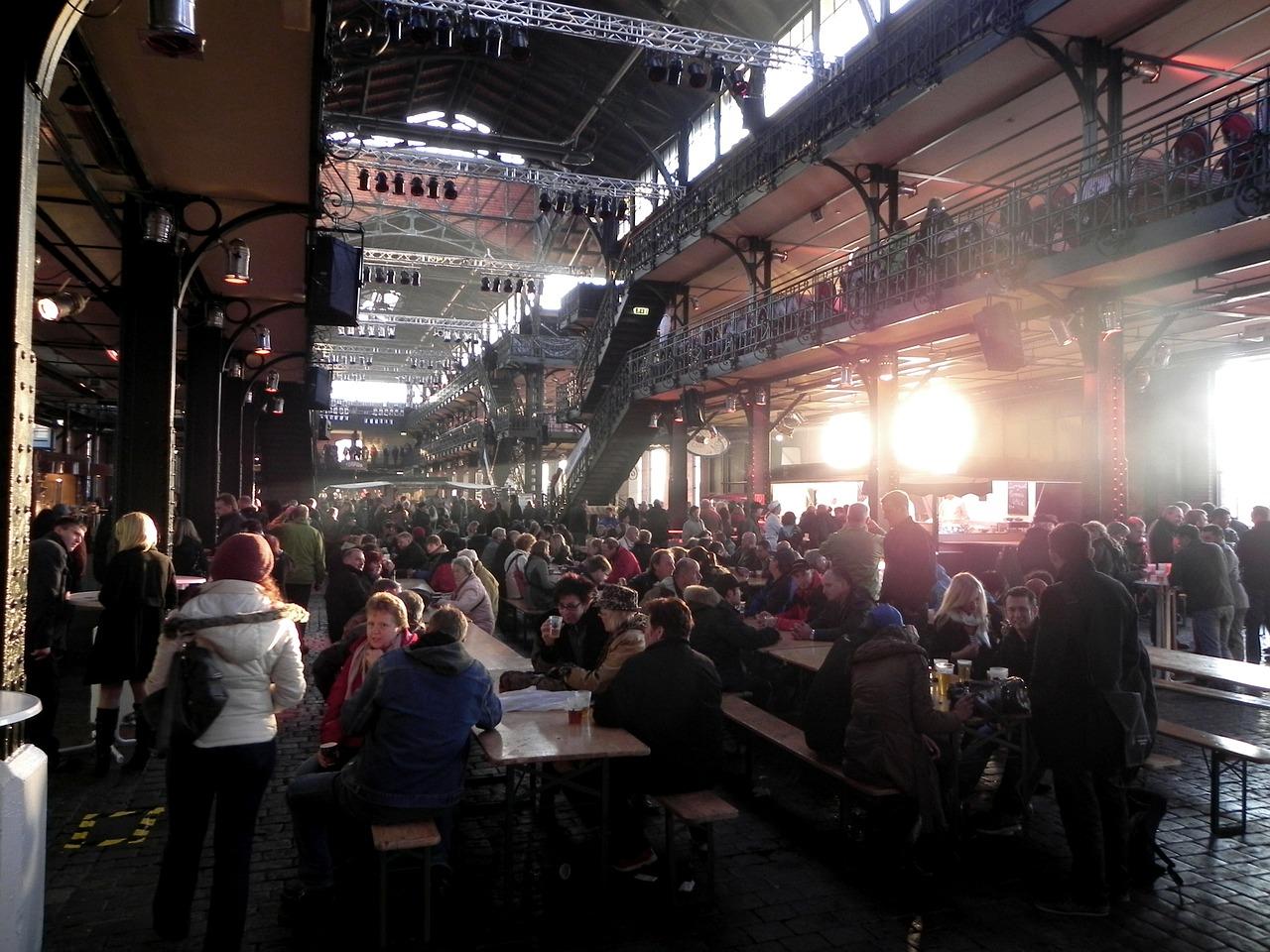 Fischmarkthalle in Hamburg