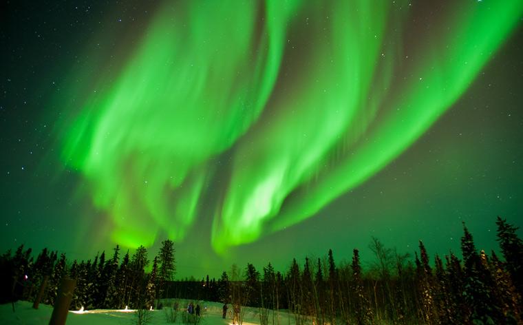 Farbenfroher Nachthimmel: Die besten Orte, um Nordlichter zu sehen