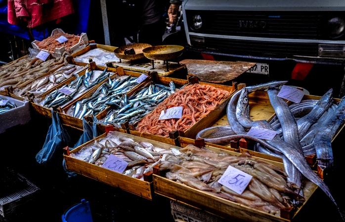 Fischmarkt in Hamburg