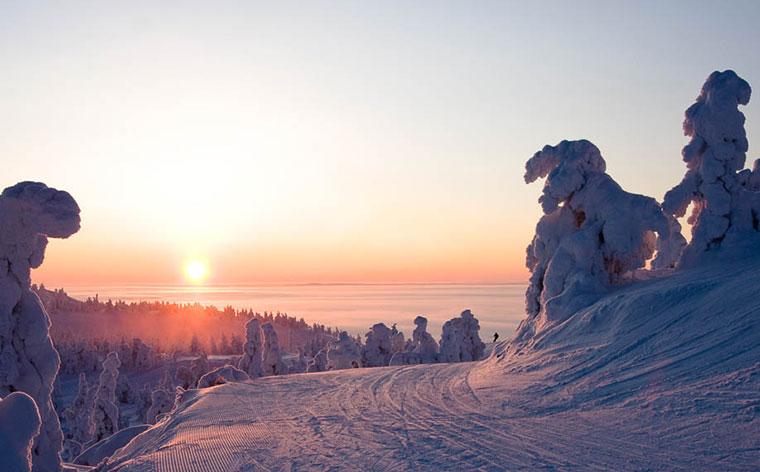 Die 10 besten Skigebiete in den nordischen Ländern
