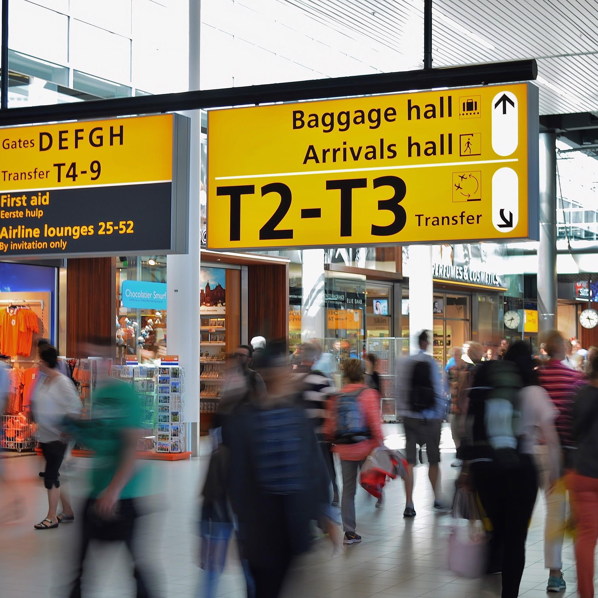 Gate am Flughafen