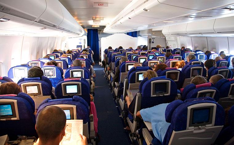 Langstreckenflug Economy Class