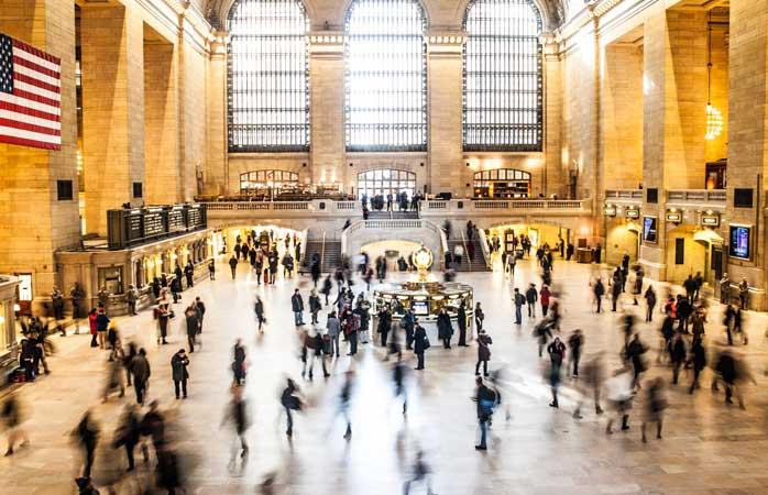 Verwirrung am Grand Central
